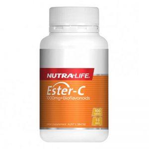 Nutralife Ester C 1000mg + Bioflavonoids