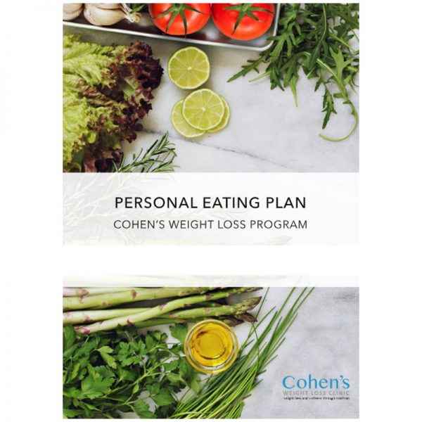 Cohen's Eating Plan Booklet
